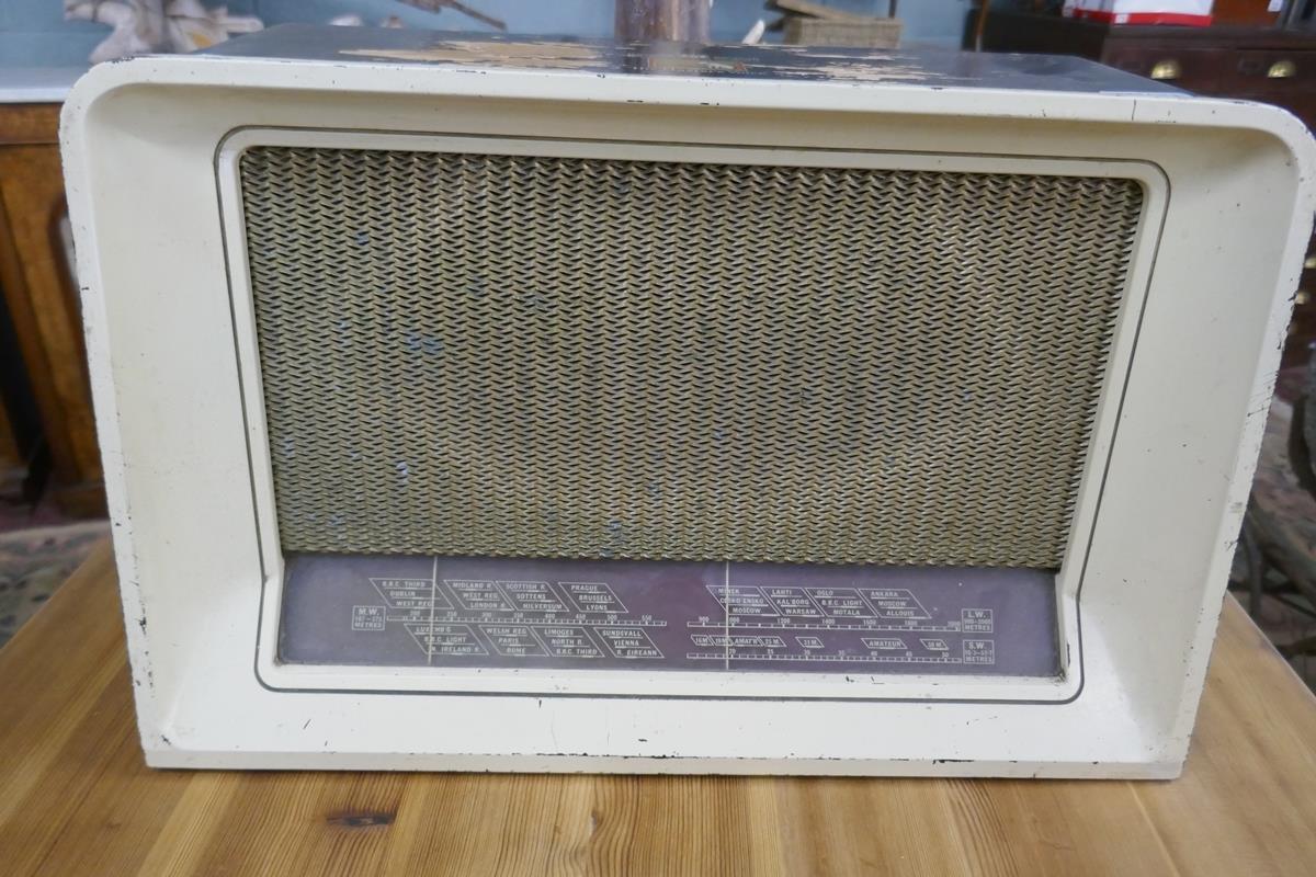HMV valve radio - Image 3 of 7