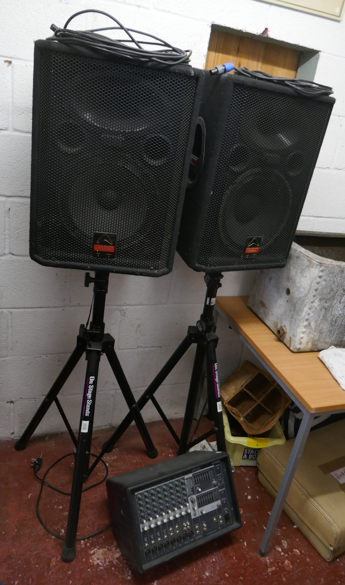 Good quality PA system in good order
