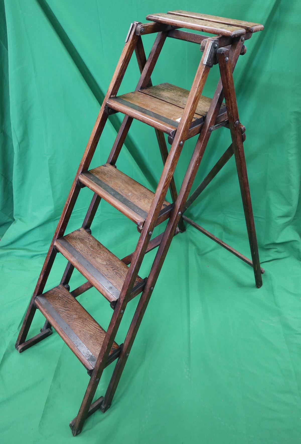 Vintage good quality step ladders