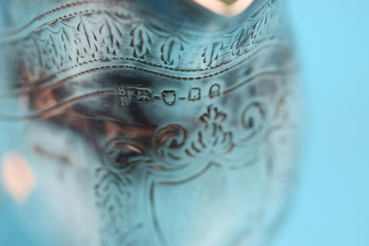 George III hallmarked silver cream jug - London 1797 - Approx weight 97g - Image 2 of 2