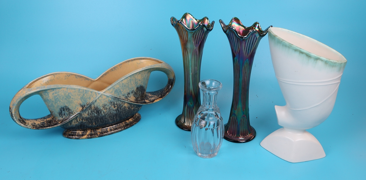 Collectables to include small early decanter