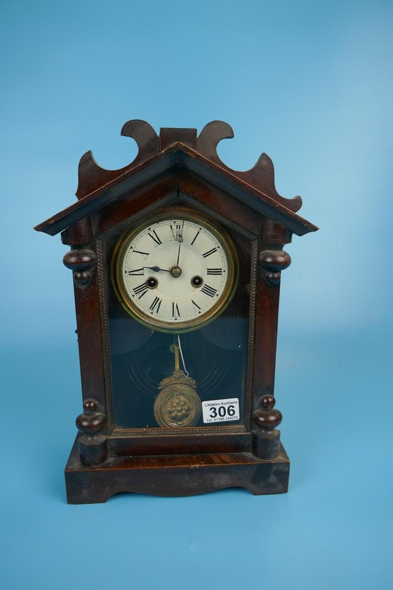 Unusual mantle clock