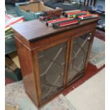 Astra glazed bookcase