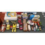 Collection of diecast model cars