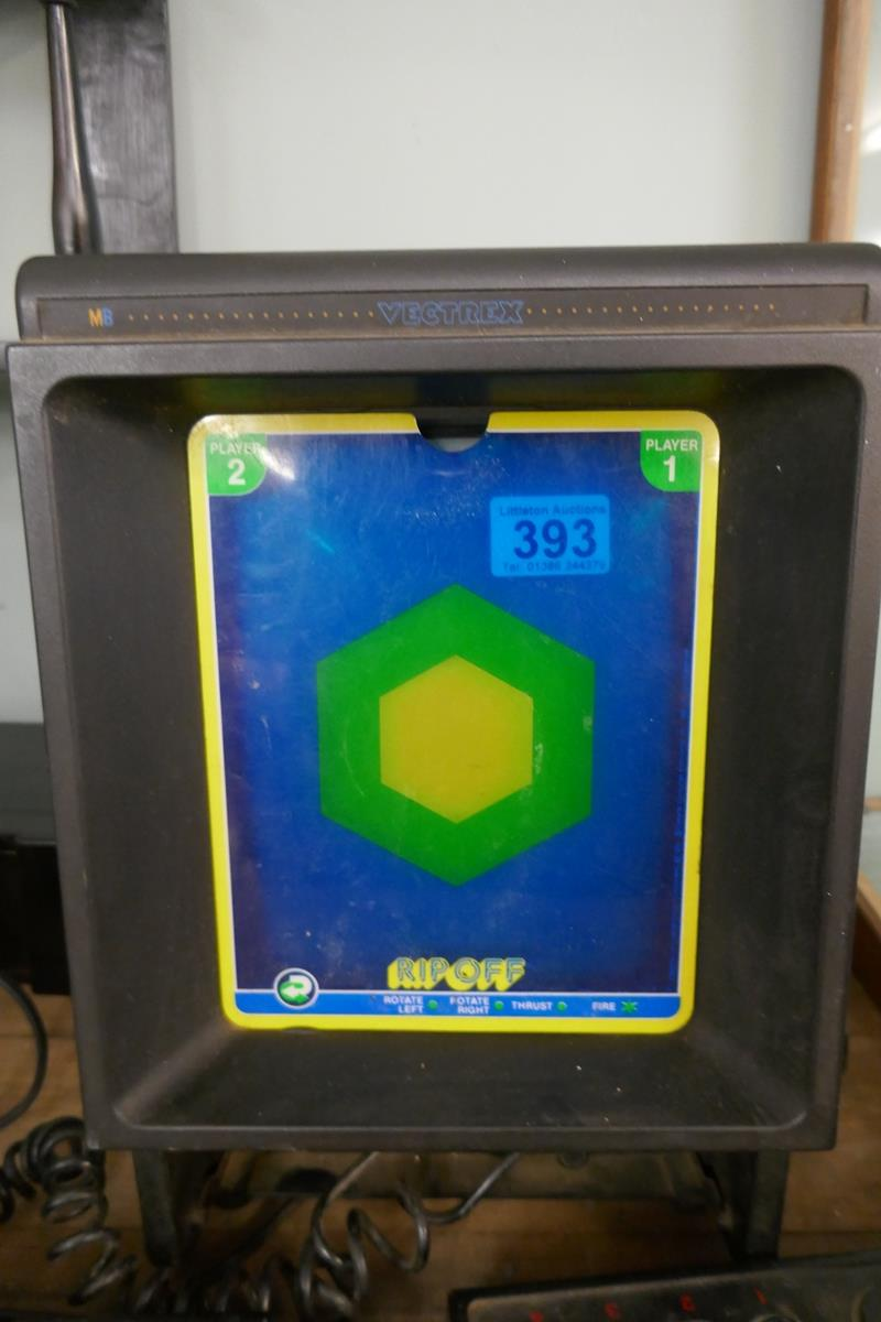 Vintage MB Vectrex computer game with 1 game cartridge - Image 2 of 5