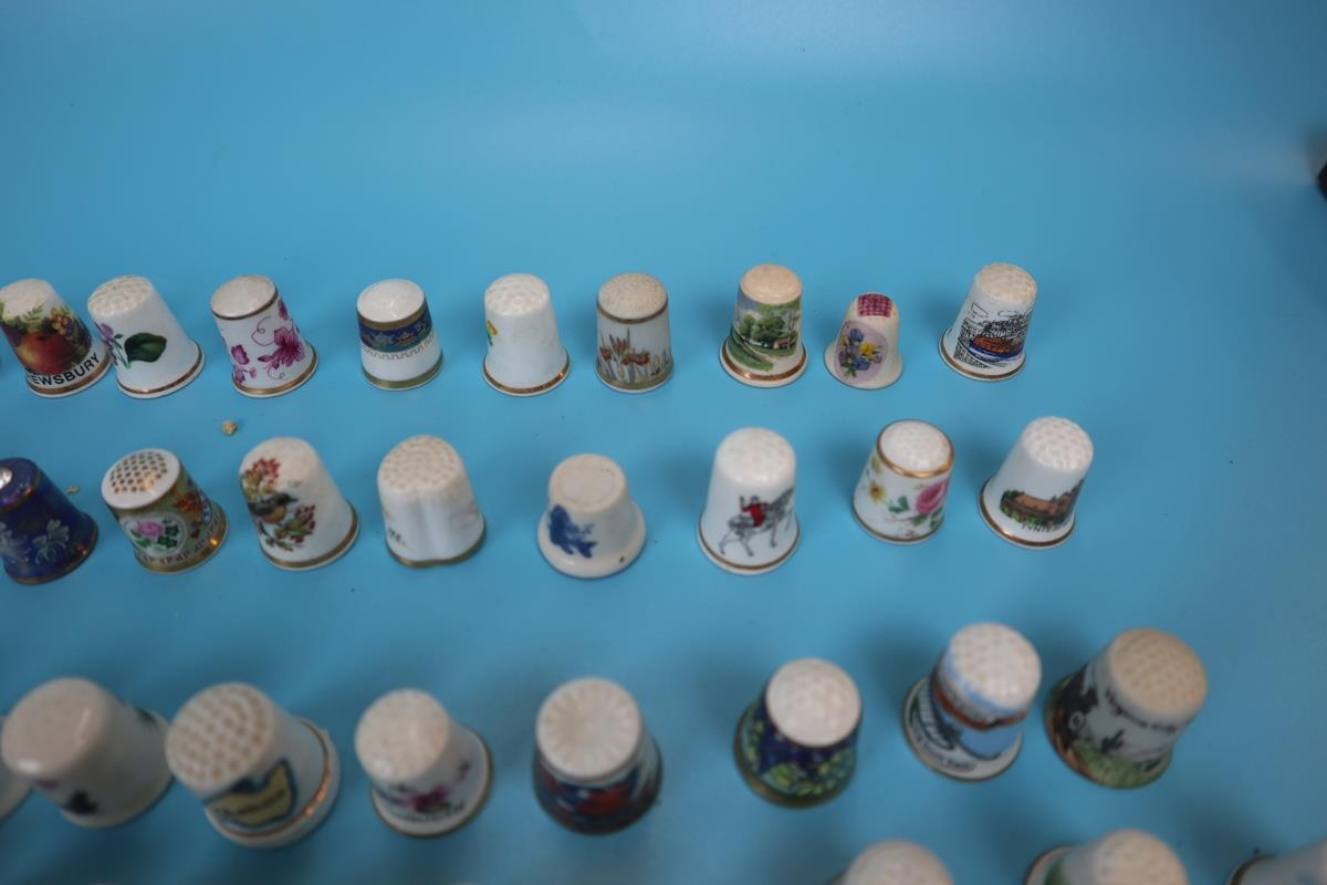 Large collection of thimbles - Image 4 of 7
