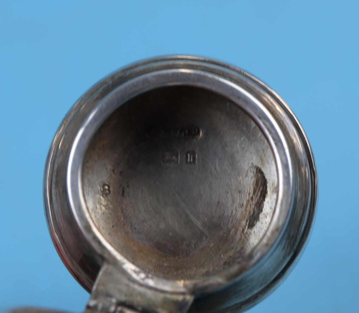 Hallmarked silver matching calendar & inkwell with Ivory tablets - London 1925 - J Aldridge & Sons - Image 10 of 12