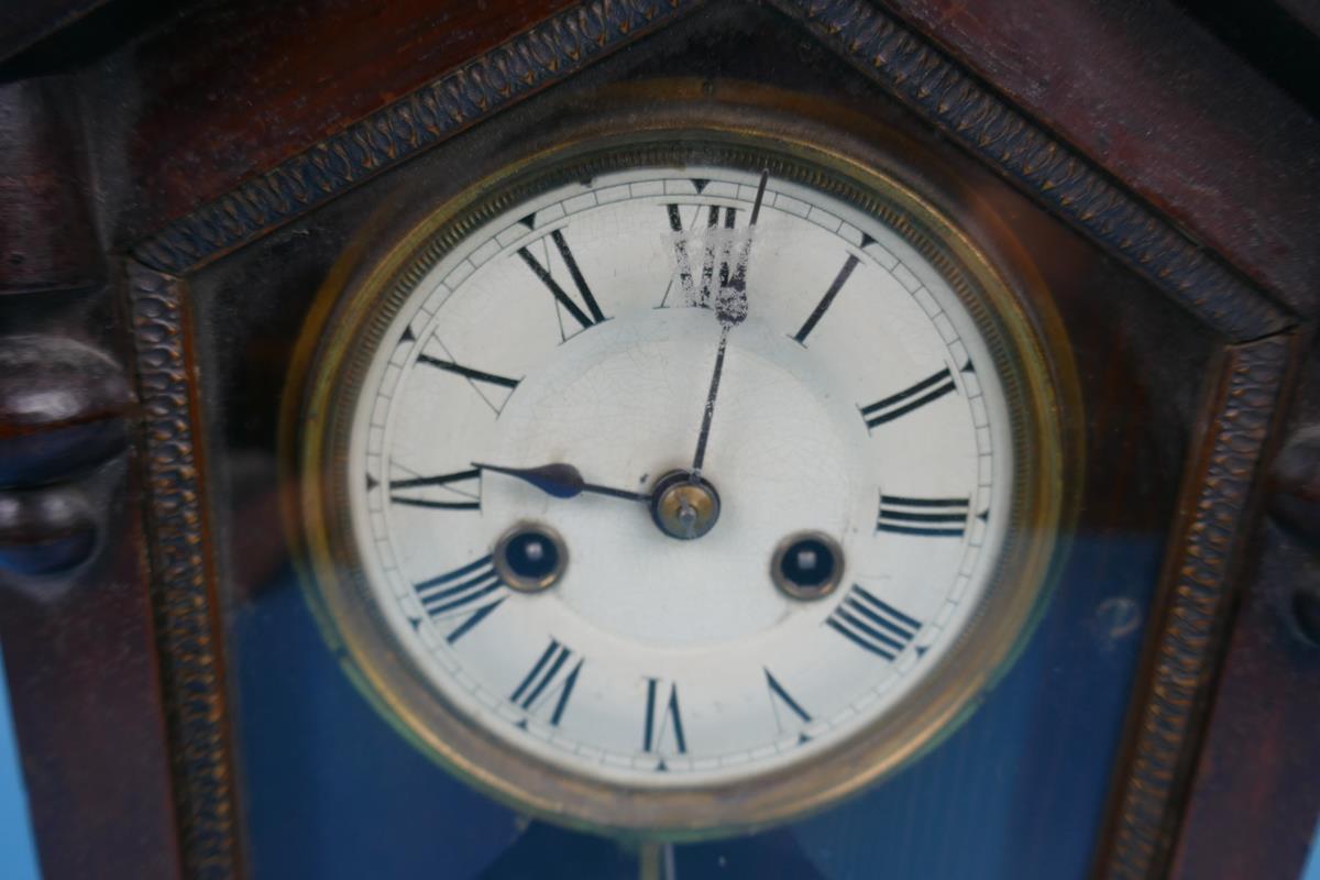 Unusual mantle clock - Image 2 of 5