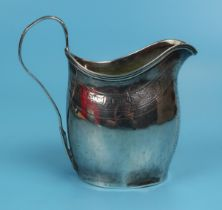 George III hallmarked silver cream jug - London 1797 - Approx weight 97g