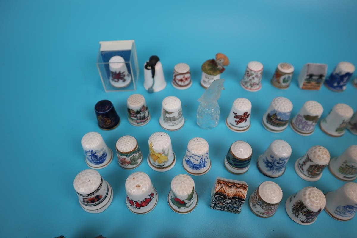 Large collection of thimbles - Image 6 of 7