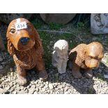 3 stone ornaments