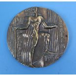 1936 Olympic bronze participants medal