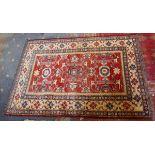 Antique rug - Approx 160cm x 109cm