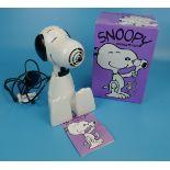 Vintage Snoopy hairdryer in original box