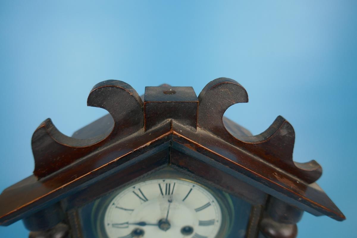 Unusual mantle clock - Image 4 of 5