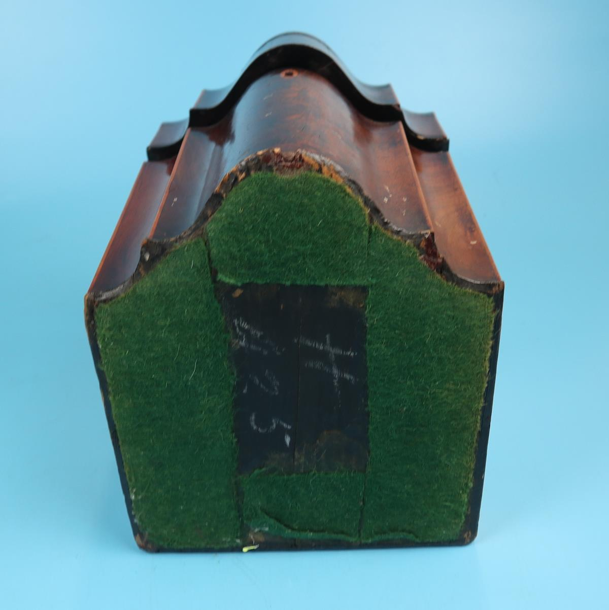 Pair of Georgian mahogany knife boxes with fitted interiors - Image 10 of 17