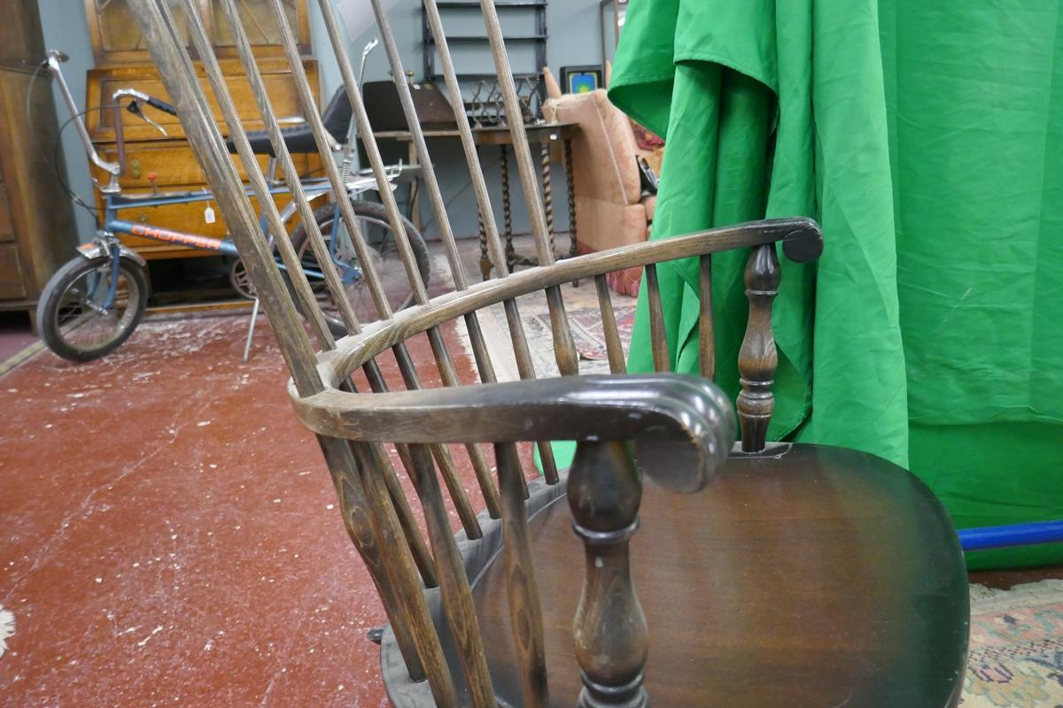 Stick-back rocking chair - Image 4 of 4