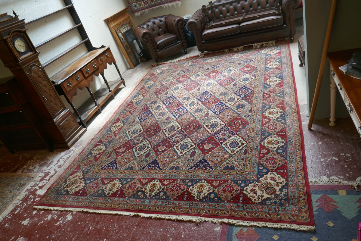 Large Eastern carpet