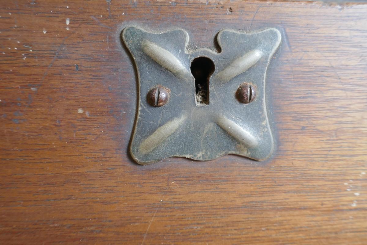 Mahogany Art Deco bureau - Image 2 of 4