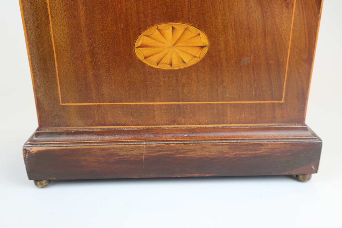 Inlaid mantle clock - Image 4 of 6