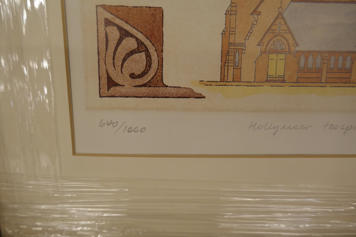 60 L/E signed architectural prints by Carl March to include duplicates - Image 4 of 8