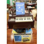 Rosedale Electric chord organ in original box