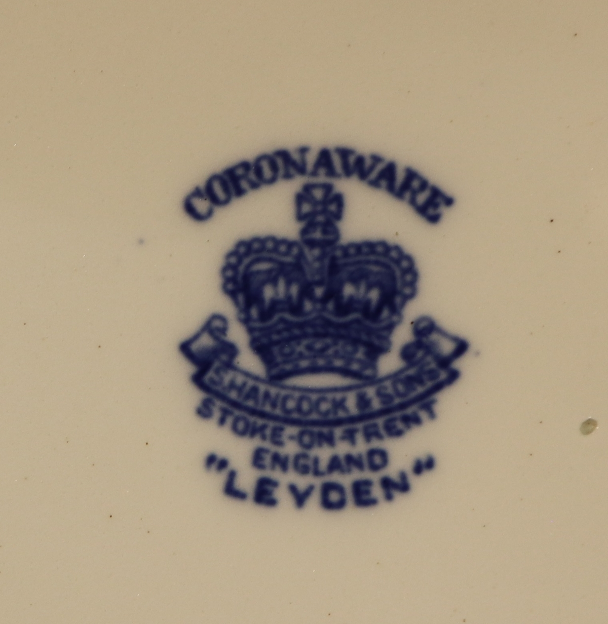 Large collection of blue & white Coronaware - Leyden pattern - Image 2 of 6