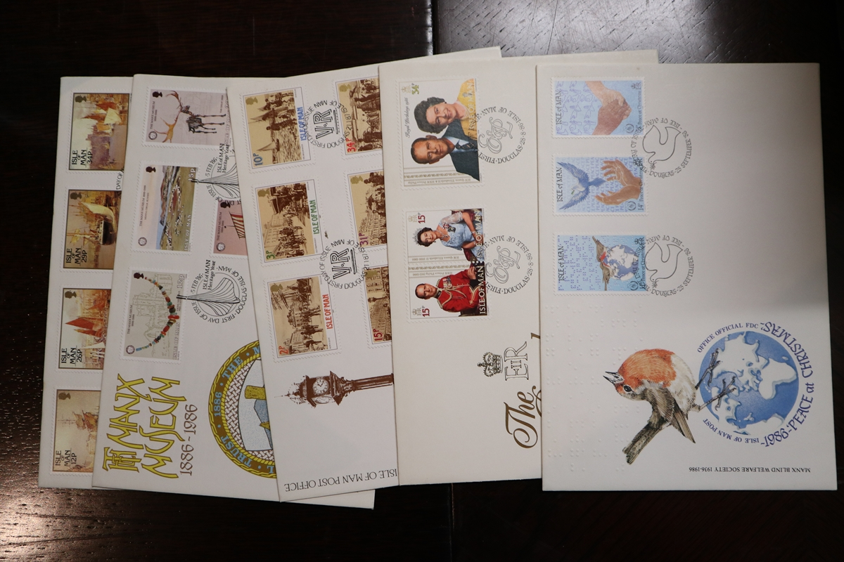 Stamps - Collection of 5 folders / books etc - Image 8 of 16