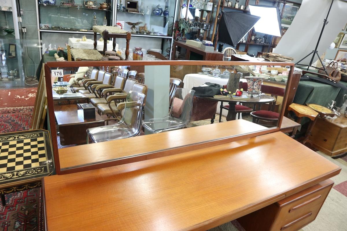 Time warp G-Plan dressing table with original G-Plan label in drawer - Image 2 of 8