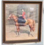 Print of Queen on Horse in Egypt by Leonard Bowden