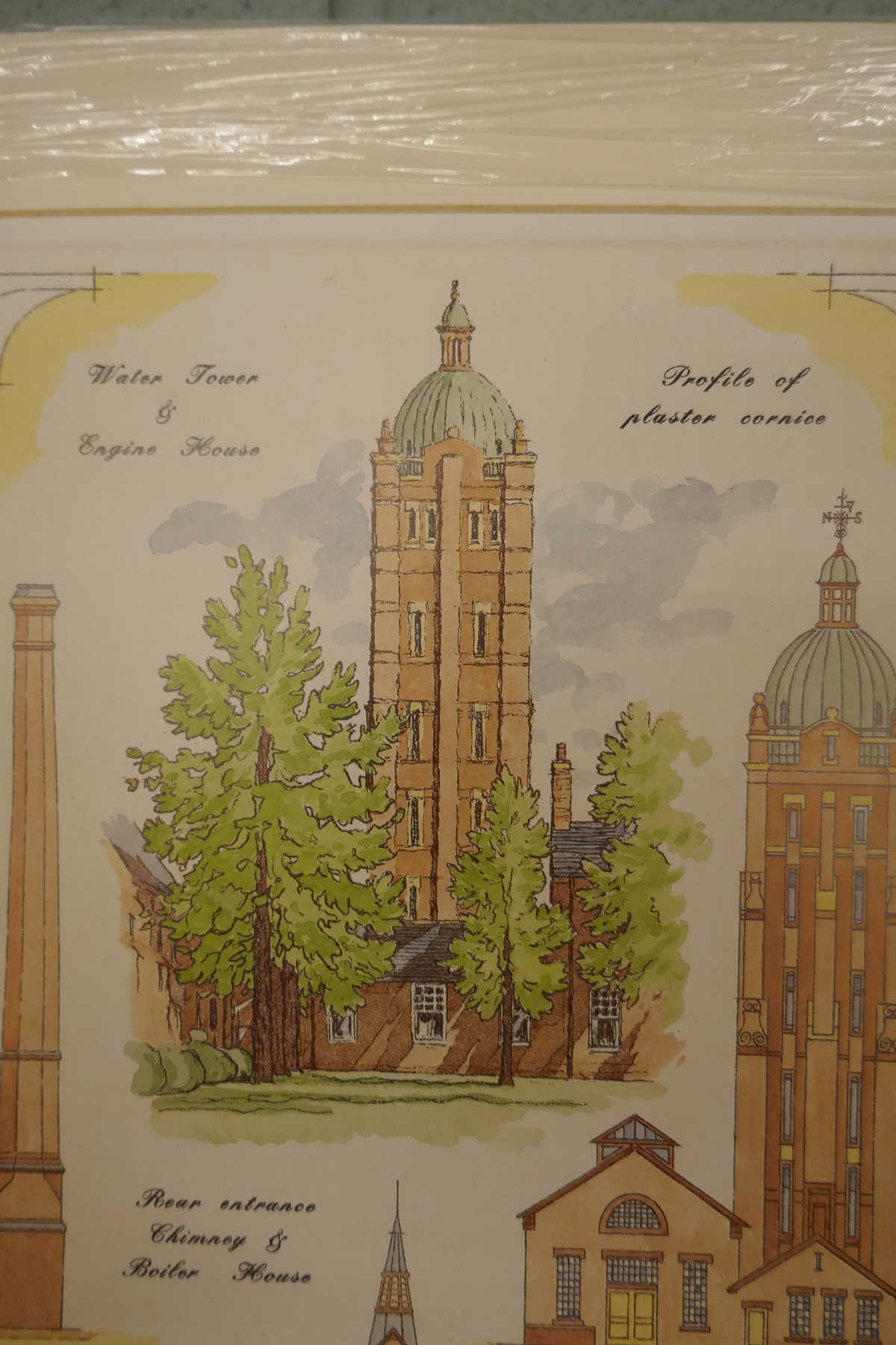 60 L/E signed architectural prints by Carl March to include duplicates - Image 8 of 8