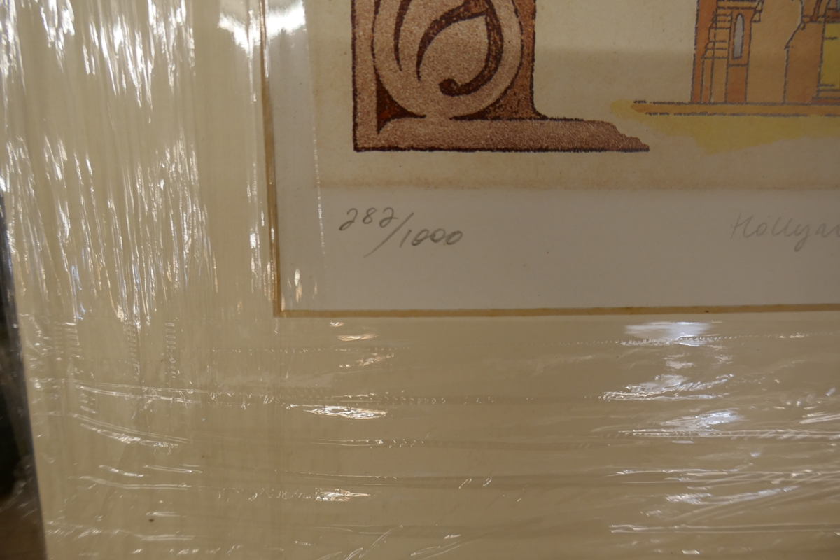 60 L/E signed architectural prints by Carl March to include duplicates - Image 6 of 8