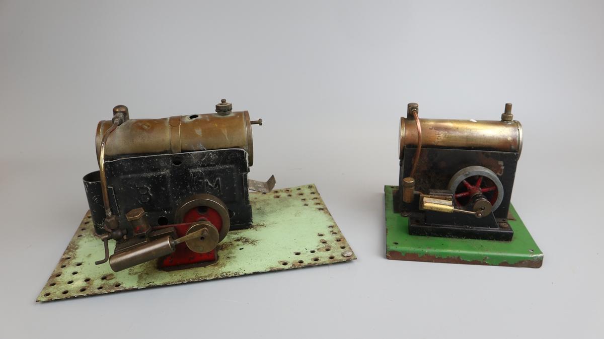 2 Bowmans model steam engines