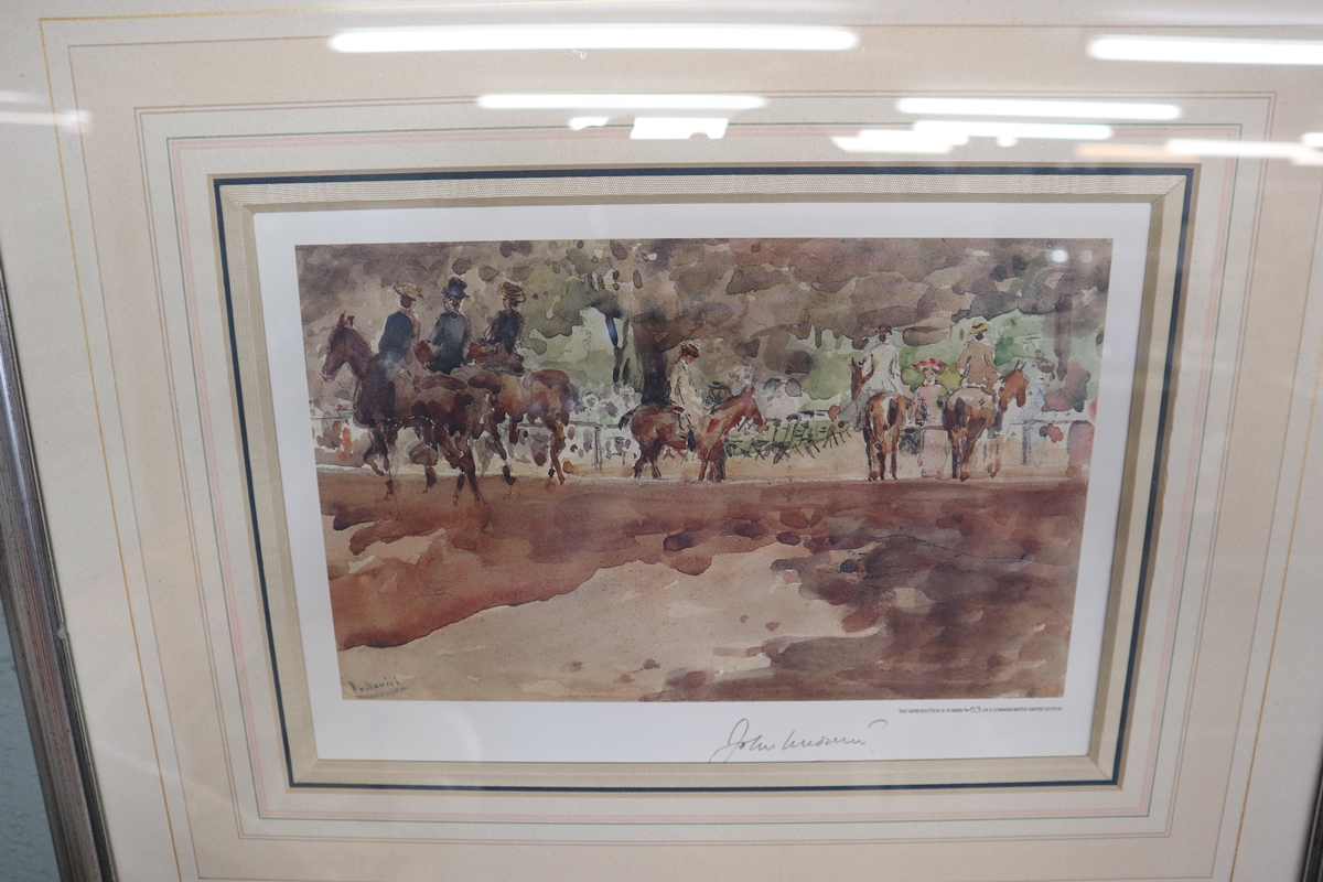 2 L/E signed prints - Image 4 of 5
