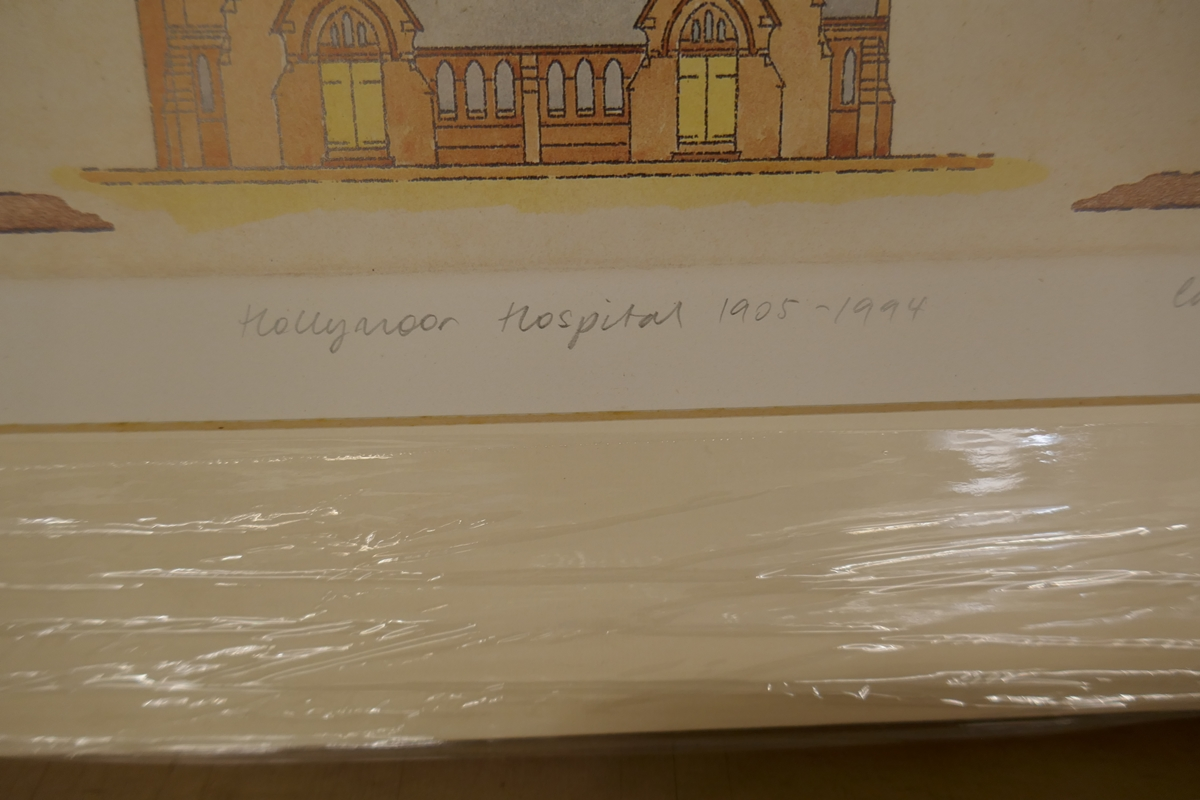 60 L/E signed architectural prints by Carl March to include duplicates - Image 7 of 8