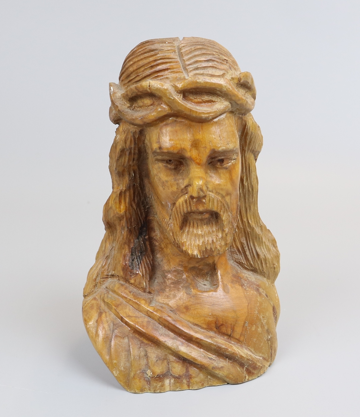 Wooden carving - Jesus Christ - Approx H: 16cm