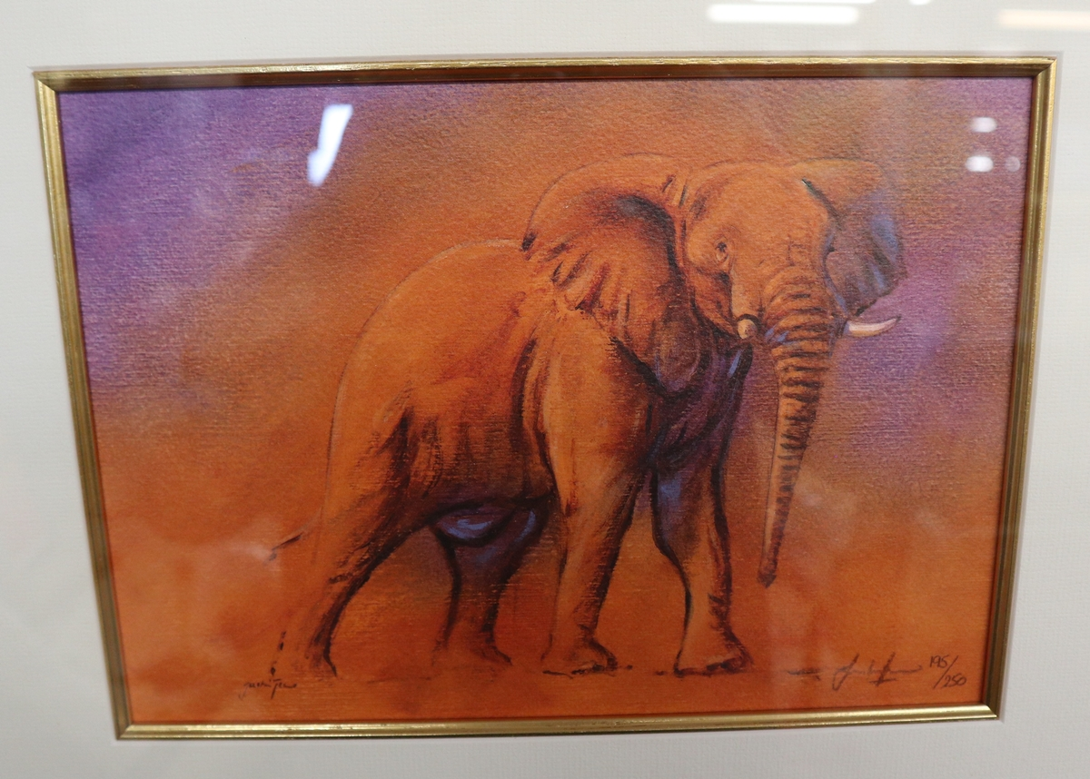 2 L/E signed prints - Image 2 of 5