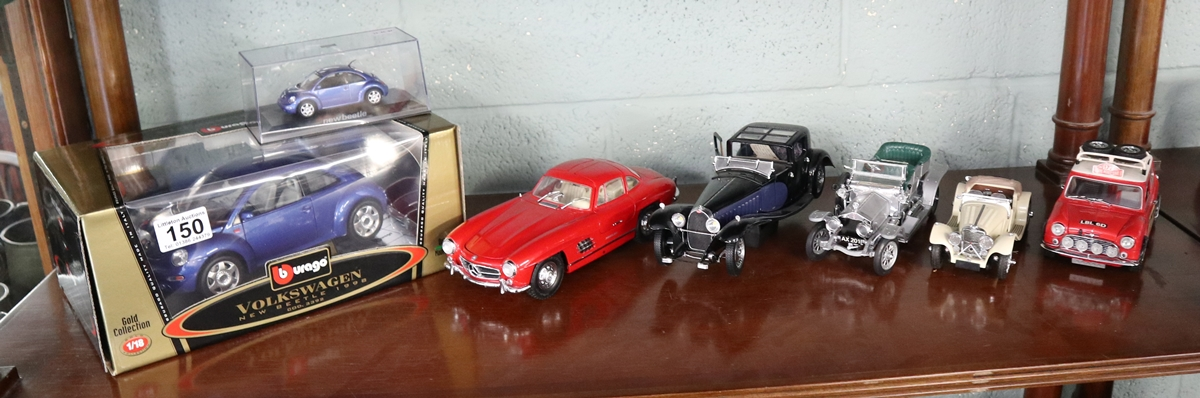 Collection of diecast cars