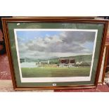 L/E signed print - Moment of Victory by Jack Russell - Signed by team