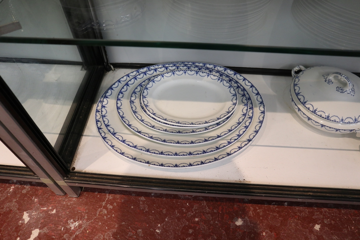 Large collection of blue & white Coronaware - Leyden pattern - Image 5 of 6