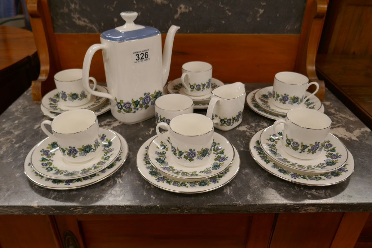 Royal Doulton coffee service for six - Esprit