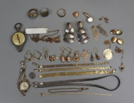 Collection of assorted gold, silver etc