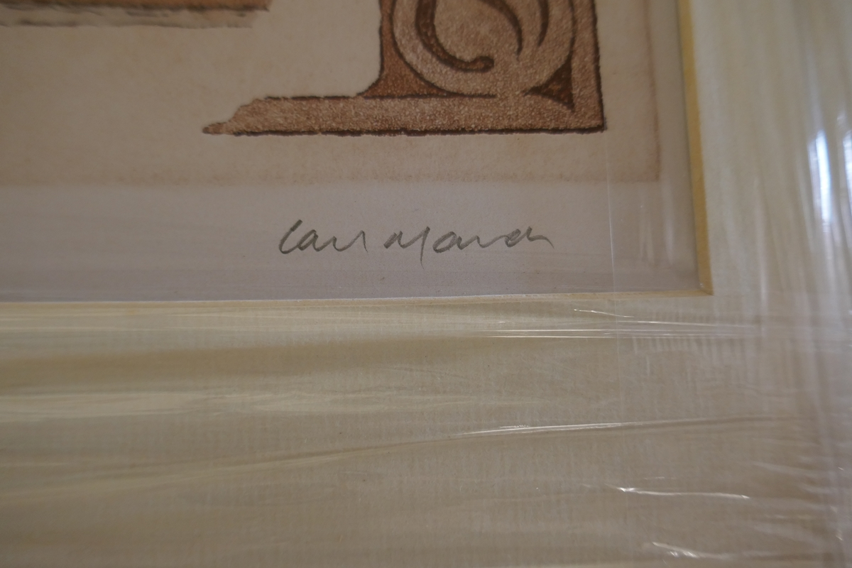 60 L/E signed architectural prints by Carl March to include duplicates - Image 3 of 8