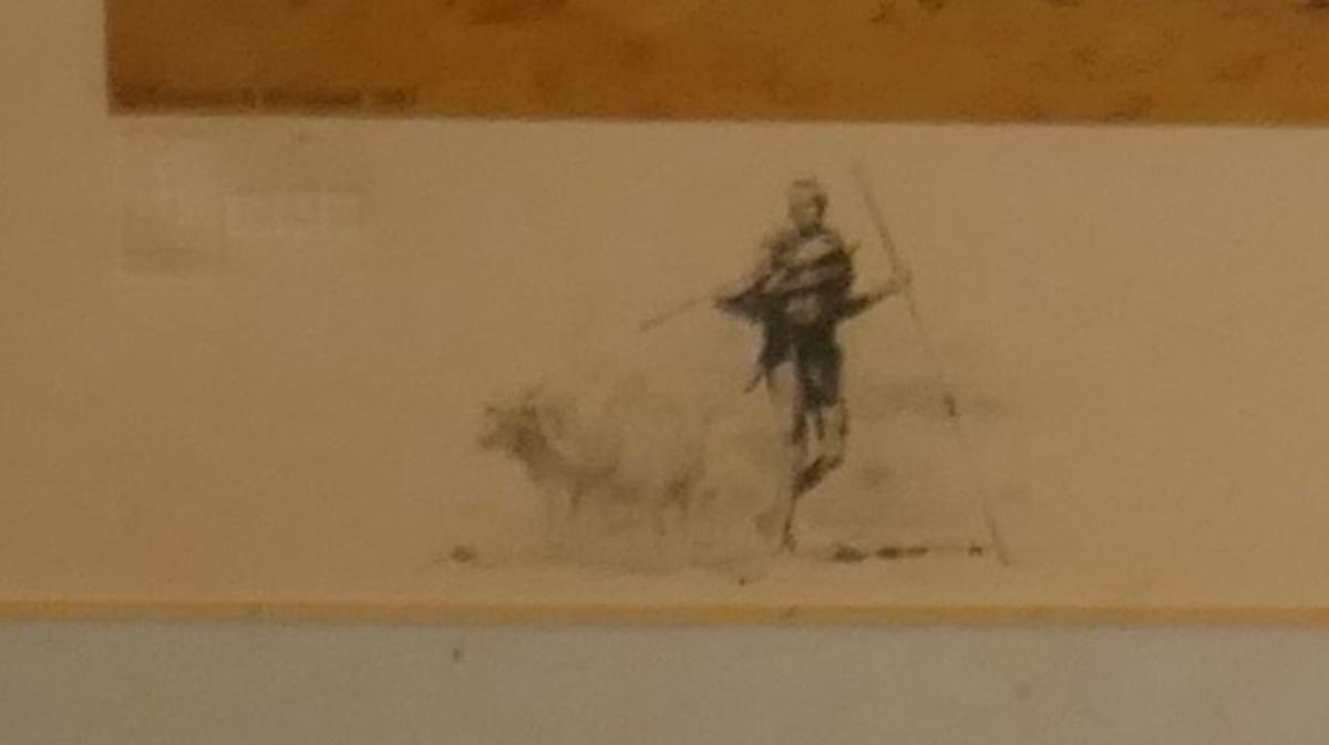 Signed L/E David Shepherd print - The Masai - Image 4 of 4