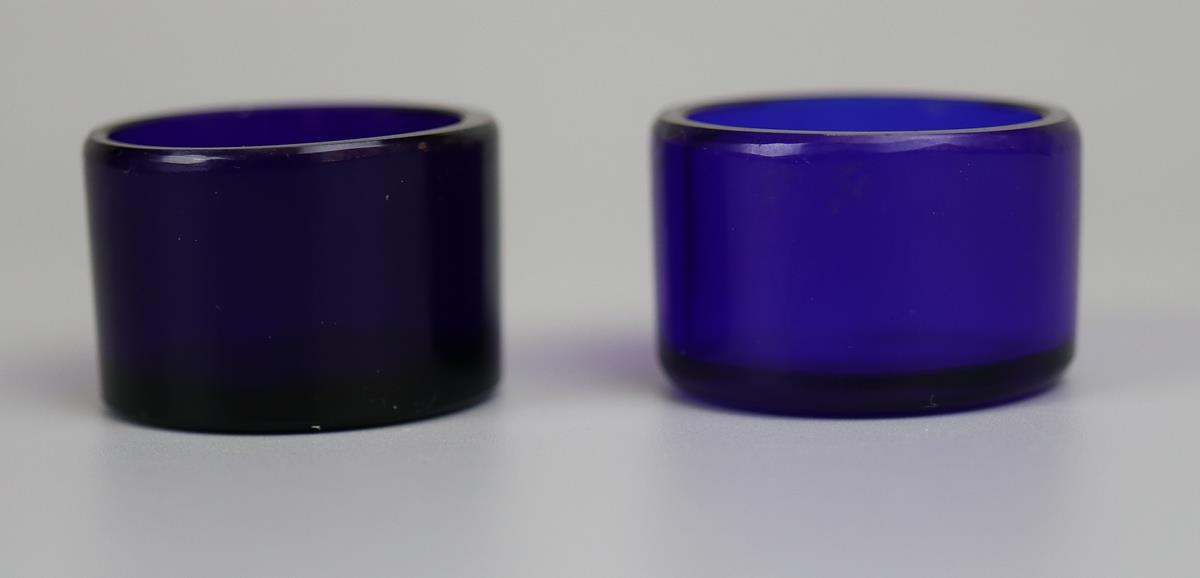Pair of hallmarked silver salt cellars - London 1866 - Approx 75g without glass liners - Image 5 of 5