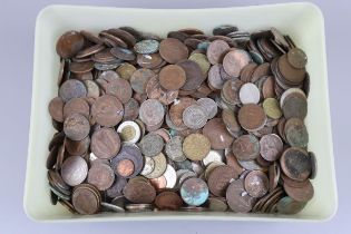 Large collection of coins