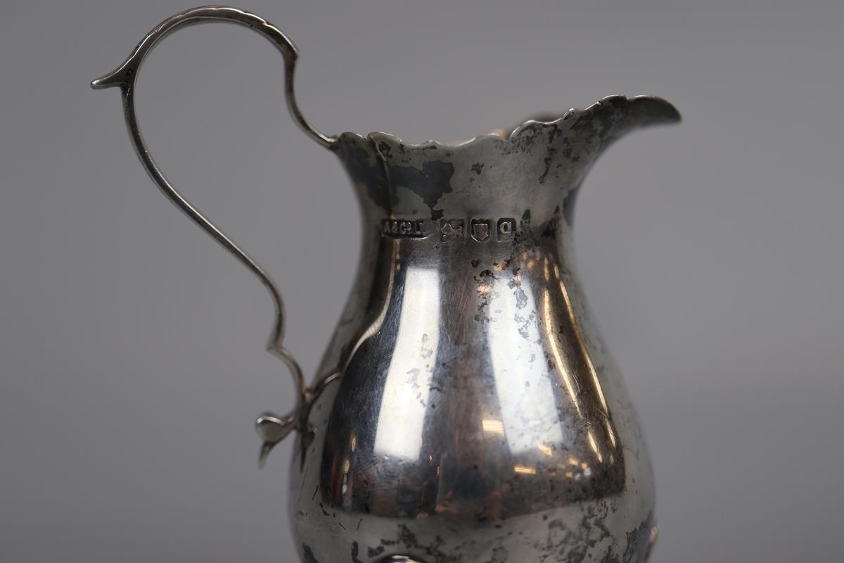 Hallmarked silver cream jug - Asprey & Co LTD - 1911 - Approx 74g - Image 2 of 4