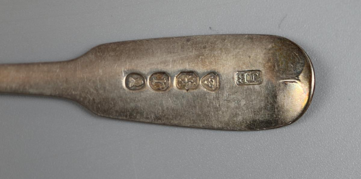Collection of hallmarked silver spoons - Approx 110g - Image 8 of 9