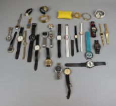 Collection of watches to include Lorus, Ingersoll, Audell etc