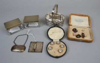 Collectables to include hallmarked silver
